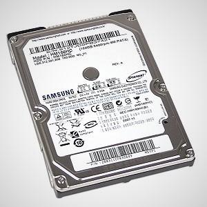 HP Designjet T790, T795, T1300 Hard drive